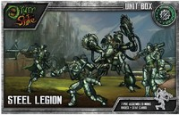 The Other Side - Abyssinia: Steel Legion (Miniatures) - Cover