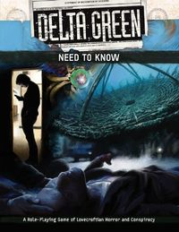 Delta Green - Need to Know (Role Playing Game) - Cover
