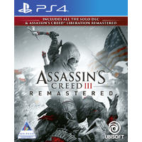 Assassin's Creed III + Liberation Remastered (PS4)