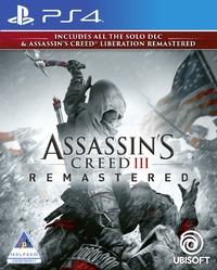 Assassin's Creed III + Liberation Remastered (PS4) - Cover