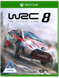 World Rally Championship 8 (Xbox One) - Cover