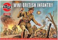 Airfix - 1/76 - Vintage Classics - WWI British Infantry (Plastic Model Kit) - Cover
