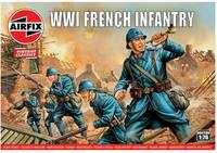 Airfix - 1/76 - Vintage Classics - WWI French Infantry (Plastic Model Kit) - Cover