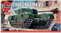 Airfix - 1/76 - Vintage Classics - Churchill Mk.VII Tank (Plastic Model Kit) - Cover