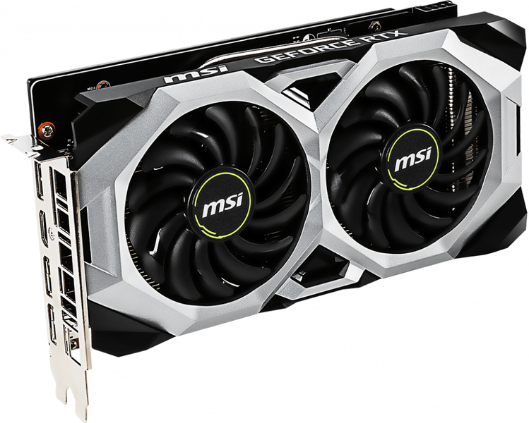 MSI - NVIDIA GeForce RTX 2060 VENTUS 6GB GDDR6 OC Graphics Card