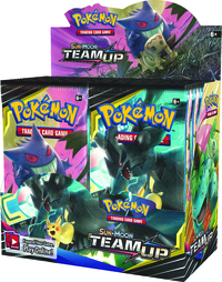 Pokémon TCG - Sun & Moon - Team Up Single Booster (Trading Card Game) - Cover