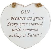 Gin Tribe - Collective Homeware Gin Heart Plaque Gin Story