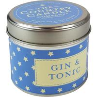 Gin Tribe - Collective Handcrafted Gin & Tonic Styled Candle Star Tin