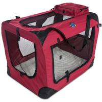 Cosmic Pets - Collapsible Carrier Large (Maroon)