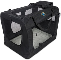 Cosmic Pets - Collapsible Carrier Large (Black) - Cover