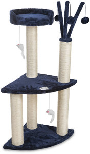 Cosmic Pets - Moon of Jupiter Small Cat Tree (Grey) - Cover