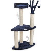 Cosmic Pets - Moon of Jupiter Small Cat Tree (Blue)