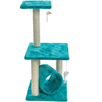 Cosmic Pets - Solar Flare Small Cat Tree (Turquoise)