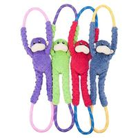 Zippy Paws - Monkey RopeTugz Dog Toy (Red)