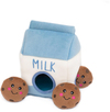 Zippy Paws - Milk and Cookies Burrow Dog Toy Cover