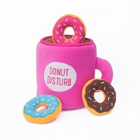 Zippy Paws - Coffee and Donutz Burrow Dog Toy - Cover