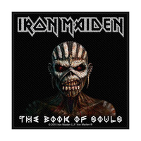 Iron Maiden Book of Souls Packaged Patch - Cover