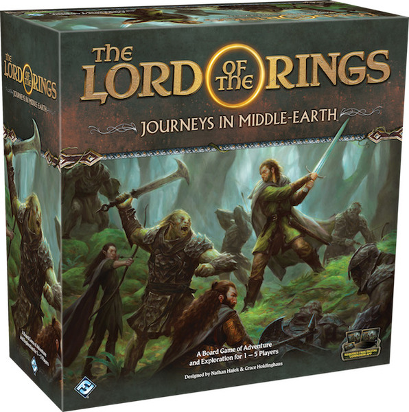 The Lord of the Rings: Journeys in Middle-earth (Board Game)
