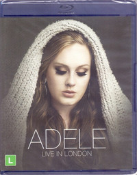 Adele - Live In London (Blu-ray) - Cover