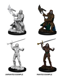 Dungeons & Dragons - Nolzur's Marvelous Unpainted Miniatures - Female Half-Orc Fighter (Miniatures) - Cover