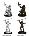 Dungeons & Dragons - Nolzur's Marvelous Unpainted Miniatures - Female Half-Orc Fighter (Miniatures)