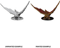 Dungeons & Dragons - Nolzur's Marvelous Unpainted Miniatures - Young Brass Dragon (Miniatures) - Cover
