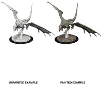 Dungeons & Dragons - Nolzur's Marvelous Unpainted Miniatures - Young White Dragon (Miniatures) - Cover