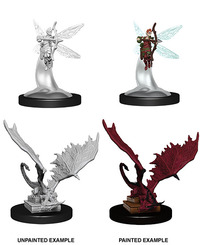 Dungeons & Dragons - Nolzur's Marvelous Unpainted Miniatures - Sprite & Pseudodragon (Miniatures) - Cover