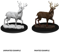 Deep Cuts Unpainted Miniatures - Stag (Miniatures) - Cover