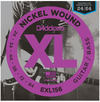 D'Addario EXL156 24-84 6 XL Nickel Wound 6 String Bass Guitar Strings for Fender Bass IV