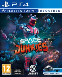 Space Junkies VR (PS4) - Cover