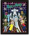 Rick and Morty - Characters Grid 3D Lenticular Poster