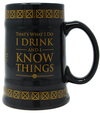 Game of Thrones - I Drink and I Know Things Ceramic Stein Mug (500ml)