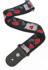 Planet Waves 50D01 2 Inch Woven Instrument Strap (Hold'em)