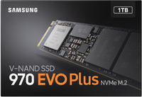 Samsung 970 Evo Plus 1TB Nvme Solid State Drive M.2  Express 3