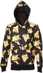 Pokemon - Pikachu Print Mens Hoodie (Medium)