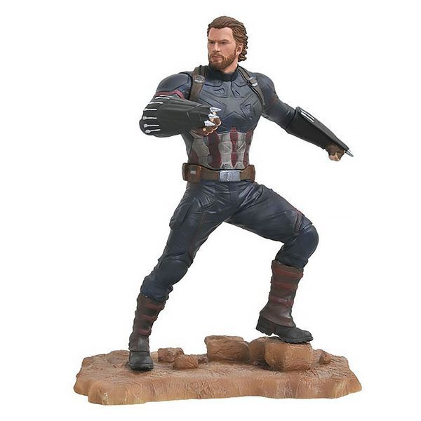 Diamond Select - Marvel Gallery Avengers 3 Captain America PVC Statue  (Figures)
