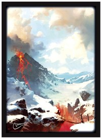 Legion Supplies - Card Sleeves - Lands Mountains (50 Sleeves) - Cover