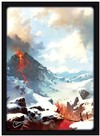 Legion Supplies - Card Sleeves - Lands Mountains (50 Sleeves)