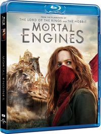Mortal Engines (Blu-ray) - Cover