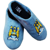 Manchester City - Big Crest Mule Slippers (Size 9-10)