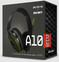 Astro A10 Gaming Headset - Call of Duty Edition (PC/Gaming)