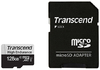 Transcend - 128GB 350V microSDXC Memory Card with SD Adapter