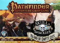 Pathfinder Adventure Card Game - Skull & Shackles Adventure Deck 4 - Island of Empty Eyes (Card Game) - Cover