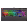 Thermaltake - KB-TPX-BLBRUS-01 Premium X1 RGB Cherry MX Blue Keyboard