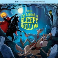 The Legend of Sleepy Hollow Book + Cd - Disney Book Group (Paperback) - Cover