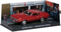 Bond in Motion: James Bond Die-Cast Collection - 1/43 - Diamonds Are Forever - Mustang Mach 1 (Die Cast Model) - Cover