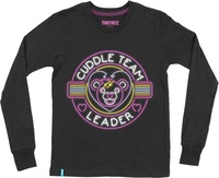 Fortnite - Cuddle Team Leader - Teen Long Sleeve - Black (15-16 Years) (X-Large) - Cover