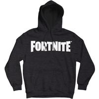 Fortnite - Logo - Men's Hoodie - Charcoal (X-Large)