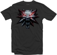 The Witcher 3 - Medallion - Men's Tee - Grey (Large) - Cover